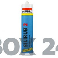 Silirub 2 High Quality Low Modulus Neutral Cure Silicone 300ml (Box of 24)